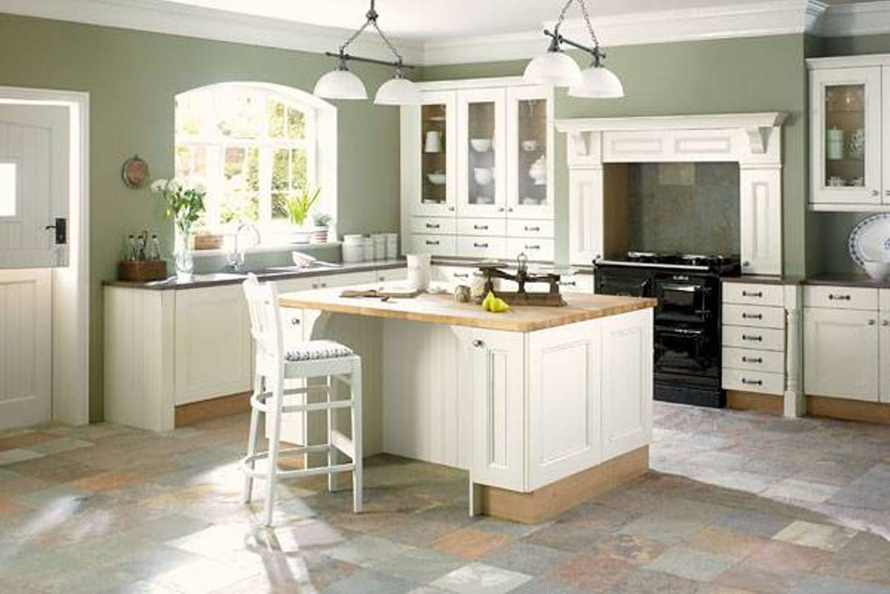 Fabulous Kitchen , Great Ideas Of Paint Colors For Kitchens : Sage Green regarding Awesome Great Kitchen Colors