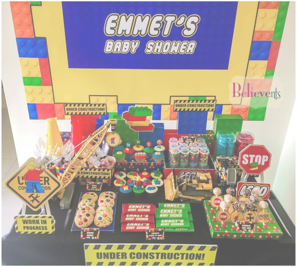 Fabulous Legos Baby Shower Party Ideas | Baby Shower Parties, Shower Party in Lego Baby Shower