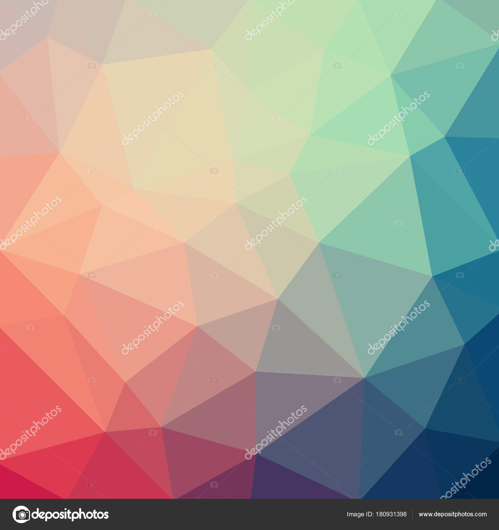 Fabulous Light Pastel Color Vector Low Poly Crystal Background. Polygon inside Set Color Pattern Design