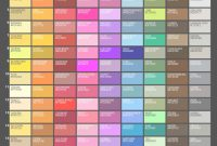 Fabulous List Of Colors With Color Names – Graf1X pertaining to Beautiful Color Palette With Names