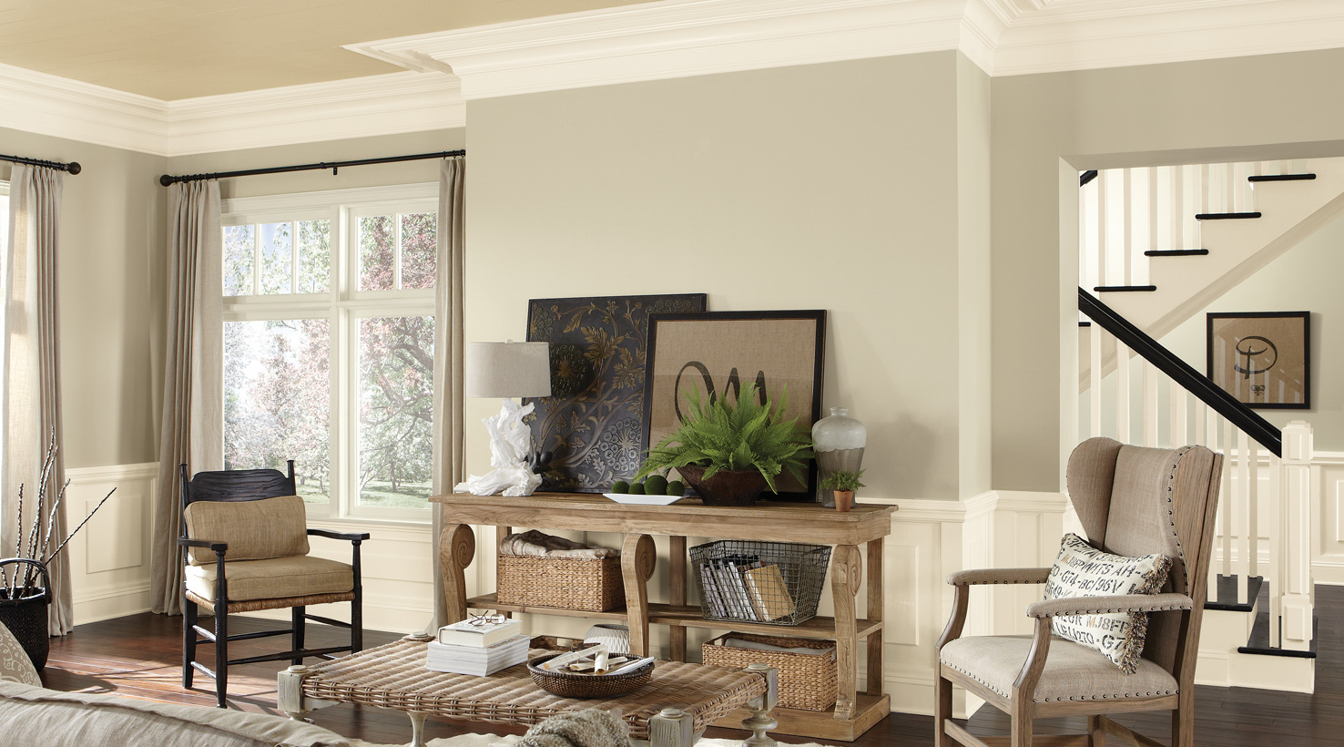 Fabulous Living Room Paint Color Ideas | Inspiration Gallery | Sherwin-Williams regarding Good Living Room Colors