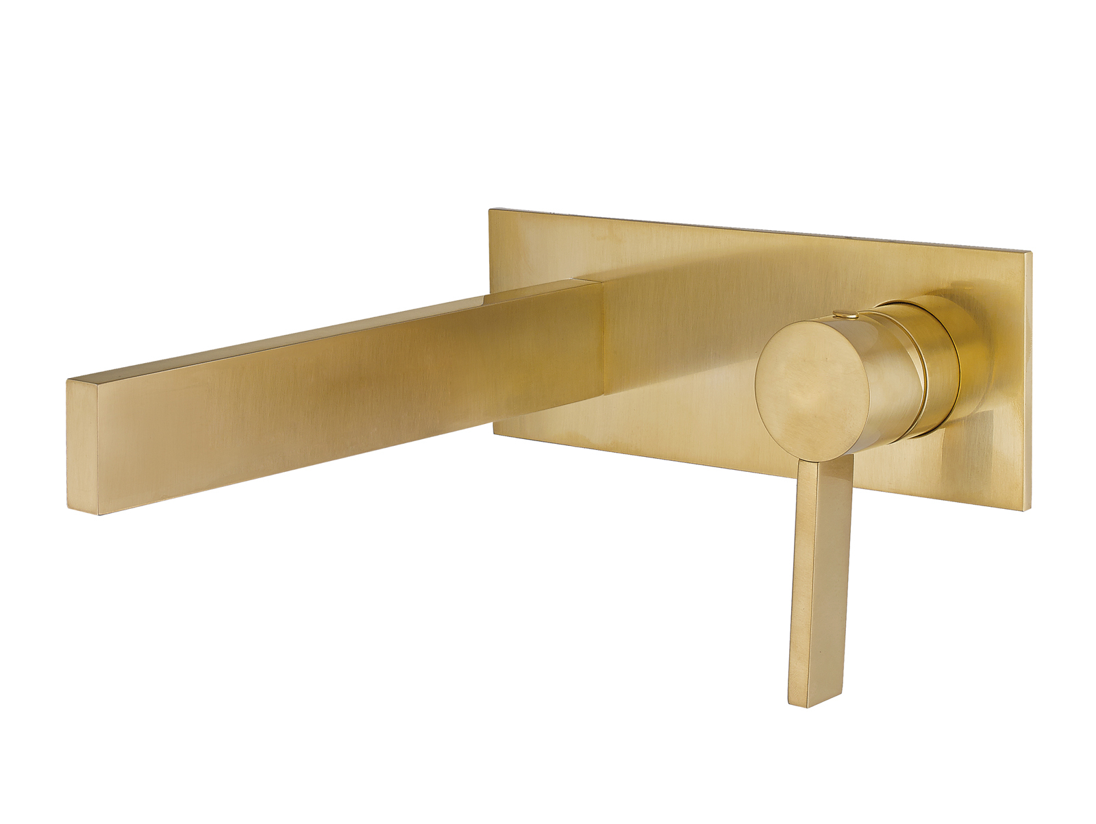 Fabulous Luxury Wall Mount Bathroom Faucet Caso Brushed Gold with regard to High Quality Gold Faucet Bathroom