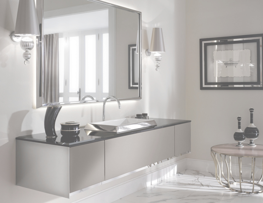 Fabulous Milldue Four Seasons 14 Lacquered Tan Luxury Italian Bathroom Vanities with regard to Luxury Bathroom Vanity