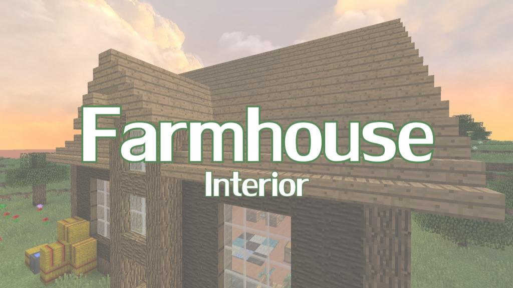 Fabulous Minecraft Farmhouse Interior Design - Youtube pertaining to Minecraft Farmhouse Design