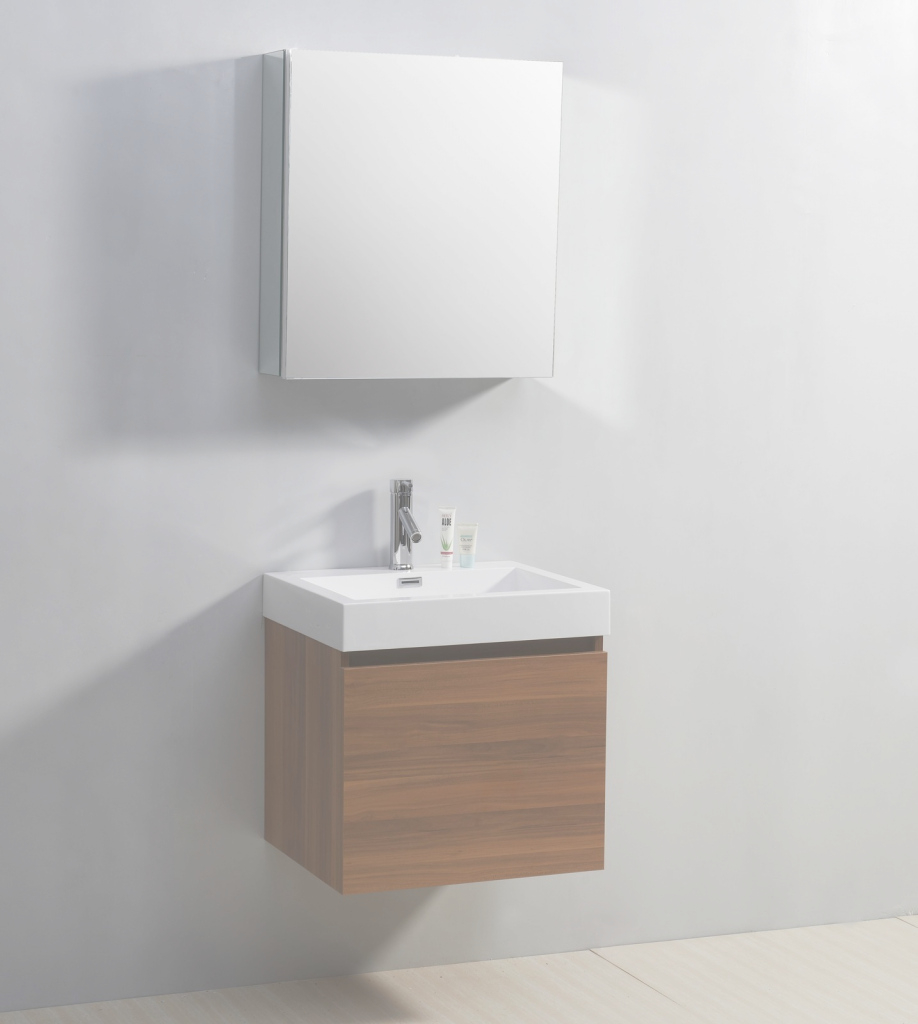 Fabulous Minimalist Idea Of Floating Bathroom Vanity Made Of Wooden Material pertaining to Floating Bathroom Sink
