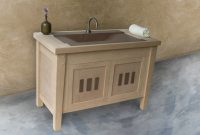 Fabulous Mission Style Stand Bathroom Vanities A Complete Guide Rustic inside Best of Furniture Style Bathroom Vanities