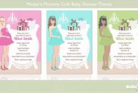 Fabulous Modern Mommy Crib Baby Shower Theme Showcase – Youtube with regard to Modern Baby Shower Themes