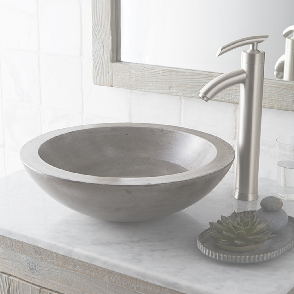 Fabulous Morro Vessel Bathroom Sink | Native Trails regarding Bowl Bathroom Sink