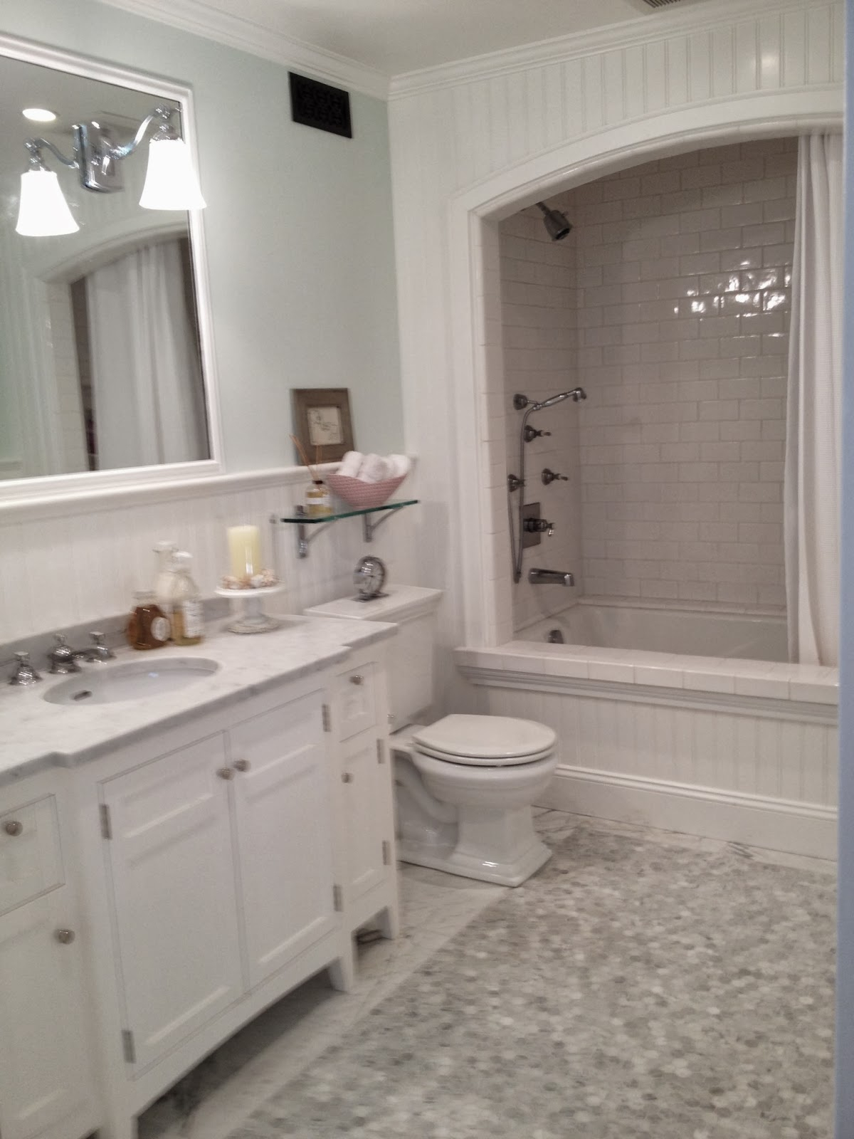 Fabulous Mortgage Loans Caroline Gerardo Home : White Bathroom Remodel throughout Low Cost Bathroom Remodel