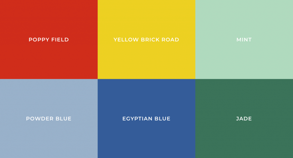 Fabulous Most Popular Colors Defining Each Decade- The 20St Into The 21St Century intended for 1930S Color Palette