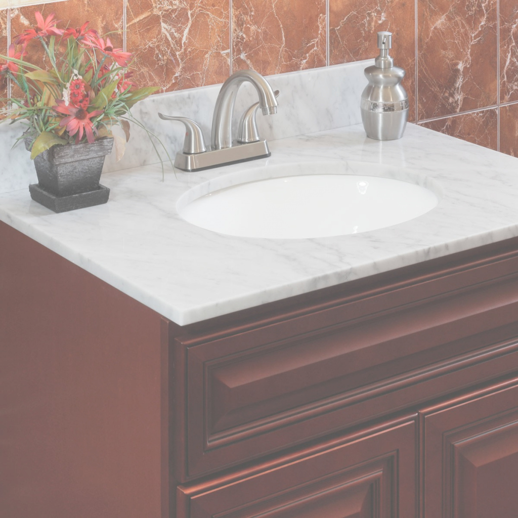 Fabulous Natural Marble Vanity Topslesscare - Shop Bathroom Vanity Tops intended for Best of Bathroom Vanity Tops With Sink