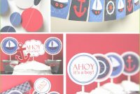 Fabulous Nautical Theme Baby Shower Decorations Nautical Theme Baby Shower pertaining to Nautical Theme Baby Shower Decorations