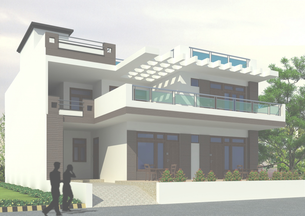 Fabulous New Style Home Exterior Feet Kerala Design Floor House Plans 43843 inside New New House Design Photos