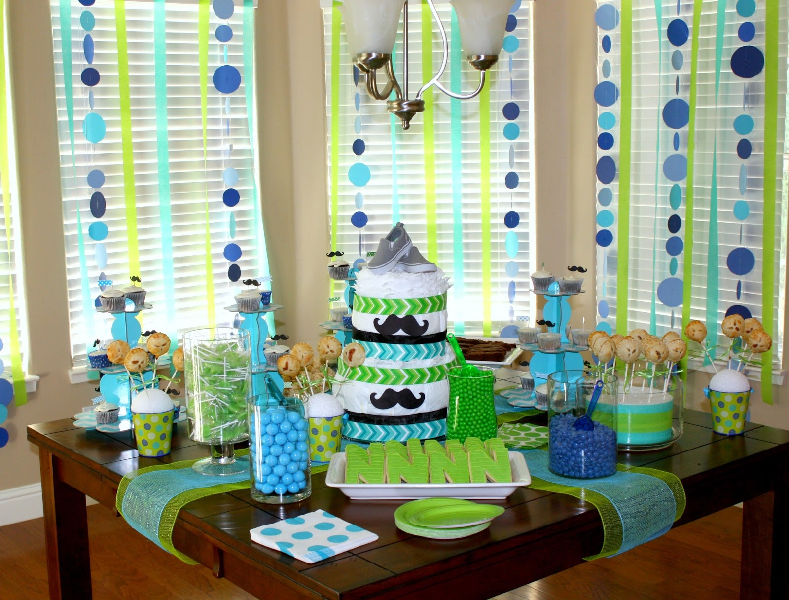 Fabulous Nice Blue And Green Baby Shower Decorations 18 - Wyllieforgovernor regarding Blue And Green Baby Shower