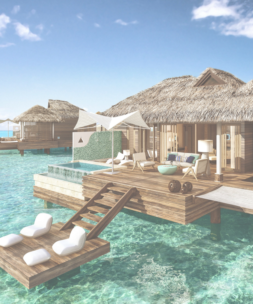 Fabulous Overwater Bungalows Sandals Royal Caribbean Jamaica regarding Good quality Sandals Over The Water Bungalows