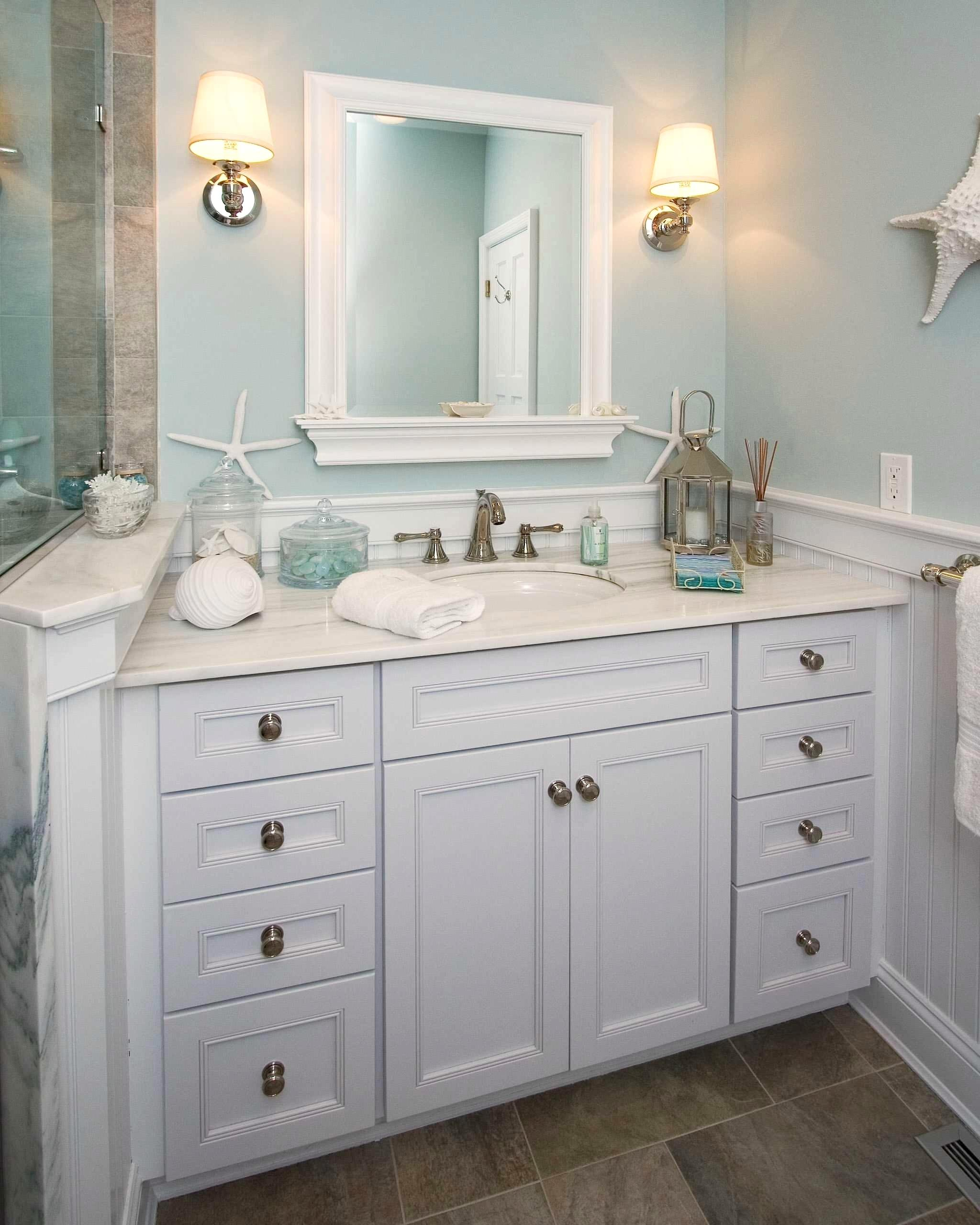 Fabulous Phenomenal-Themed-Bathroom-Ideas-Decorating-Beach-Stunning-Beach for Awesome Beach Themed Bathroom Mirrors