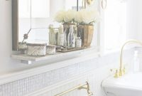 Fabulous Photos: Antique Bath Mirrors, – Longfabu intended for Inspirational Gold Bathroom Mirror