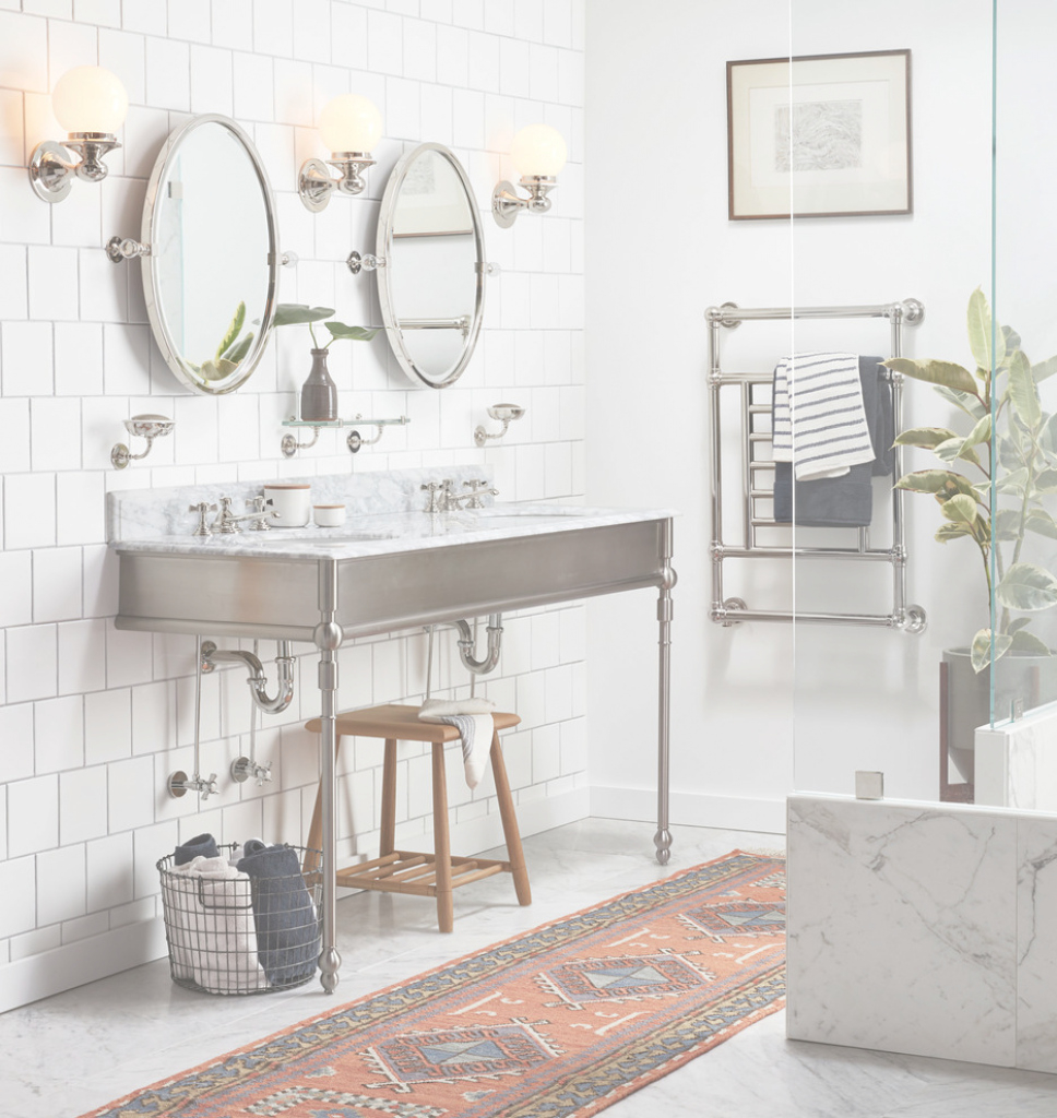Fabulous Pittock Oval Pivot Mirror | Rejuvenation intended for Review Pivot Mirror Bathroom