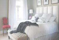 Fabulous Pleasureable White Cotton Bedcover Sheet With Wall Headboard Master in Awesome Ideas For Small Master Bedroom