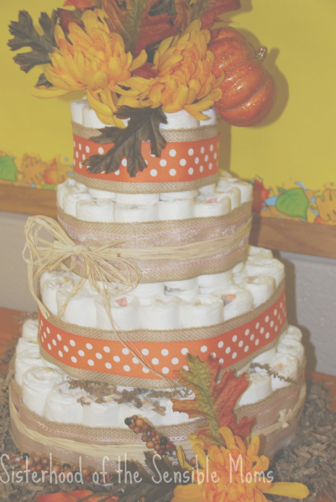 Fabulous Pumpkin All The Baby Things! Fall Baby Shower Ideas Fall Diaper Cake throughout Fall Baby Shower