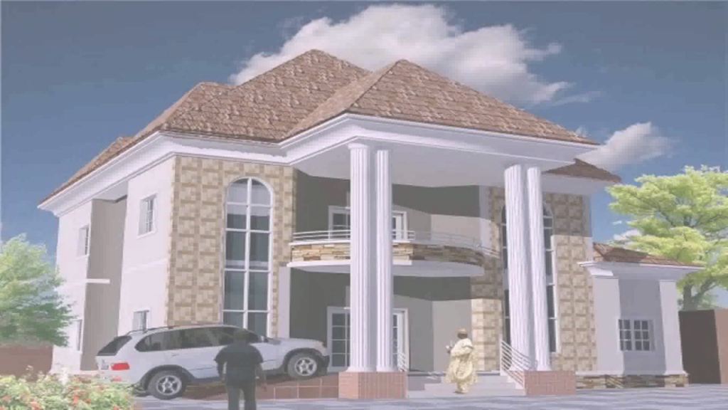 Fabulous Residential House Plans In Nigeria - Youtube in Review Nigerian House Plans With Photos