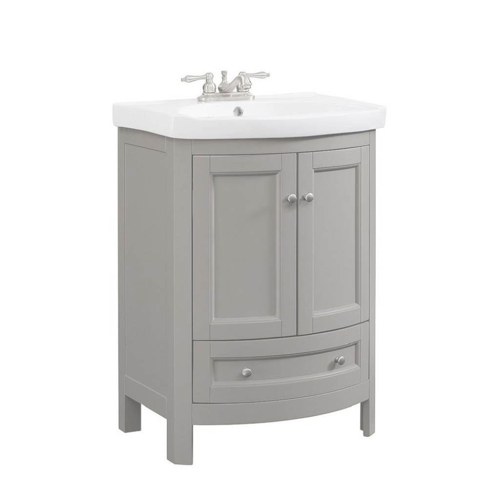 Fabulous Runfine - Bathroom Vanities - Bath - The Home Depot regarding 24 Bathroom Vanity And Sink