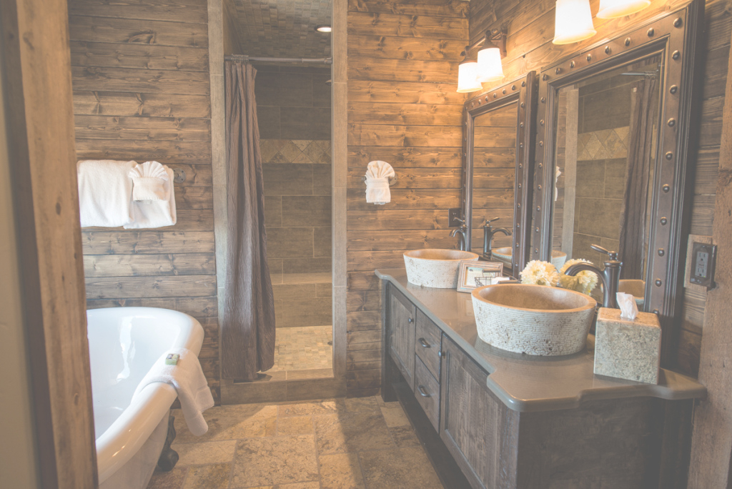 Fabulous Rustic Cabin Interiors Fancy Interior Design Ideas Using Lodge with Best of Cabin Bathroom Ideas