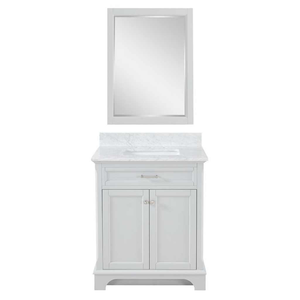 Fabulous Shop Allen + Roth Roveland Light Gray Undermount Single Sink with Allen And Roth Bathroom Vanities