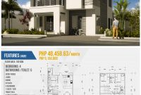 Fabulous Simple 2 Storey House Design With Floor Plan Awesome 2 Storey House with regard to Unique House Design With Floor Plan Philippines