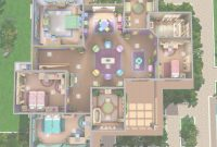 Fabulous Sims 3 Home Designs Beautiful Sims 3 Modern House Floor Plans Sims 3 intended for Sims 3 House Layouts