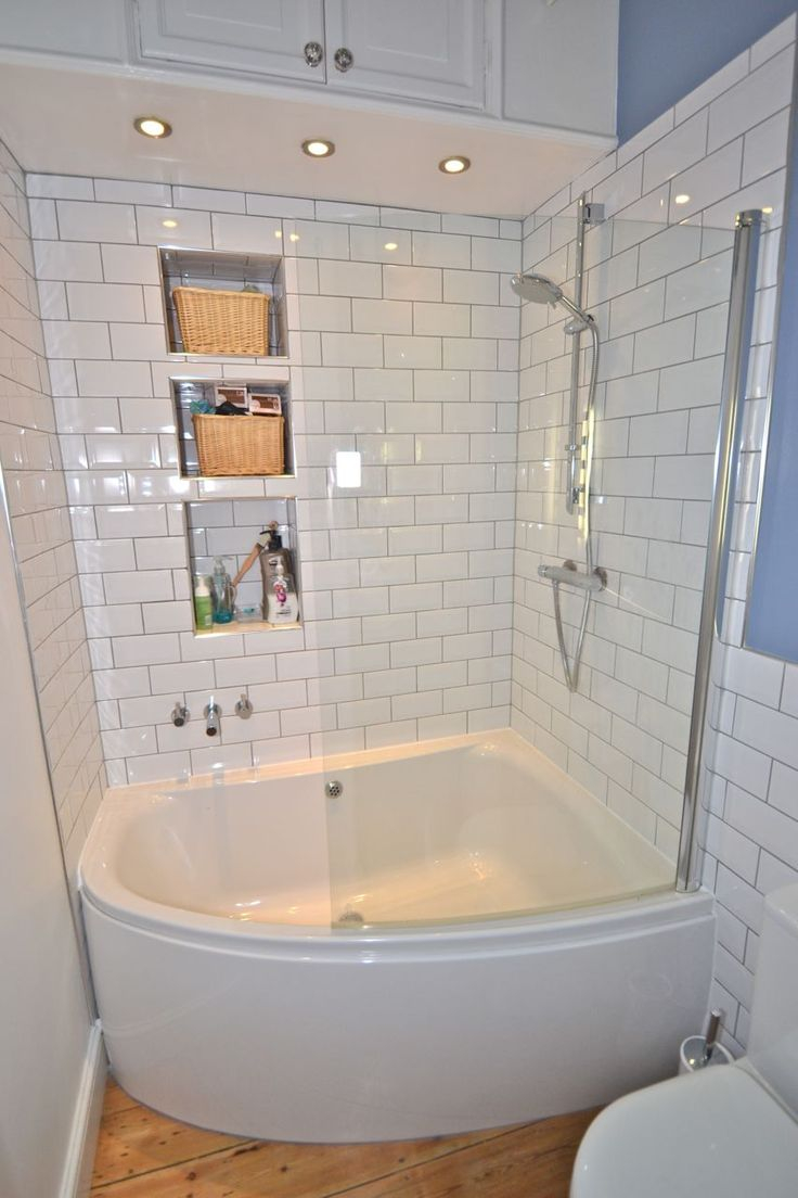 Fabulous Small Bathtubs Kohler #4 - Small Corner Tub Shower Combo For with Bathroom Shower Ideas For Small Bathrooms