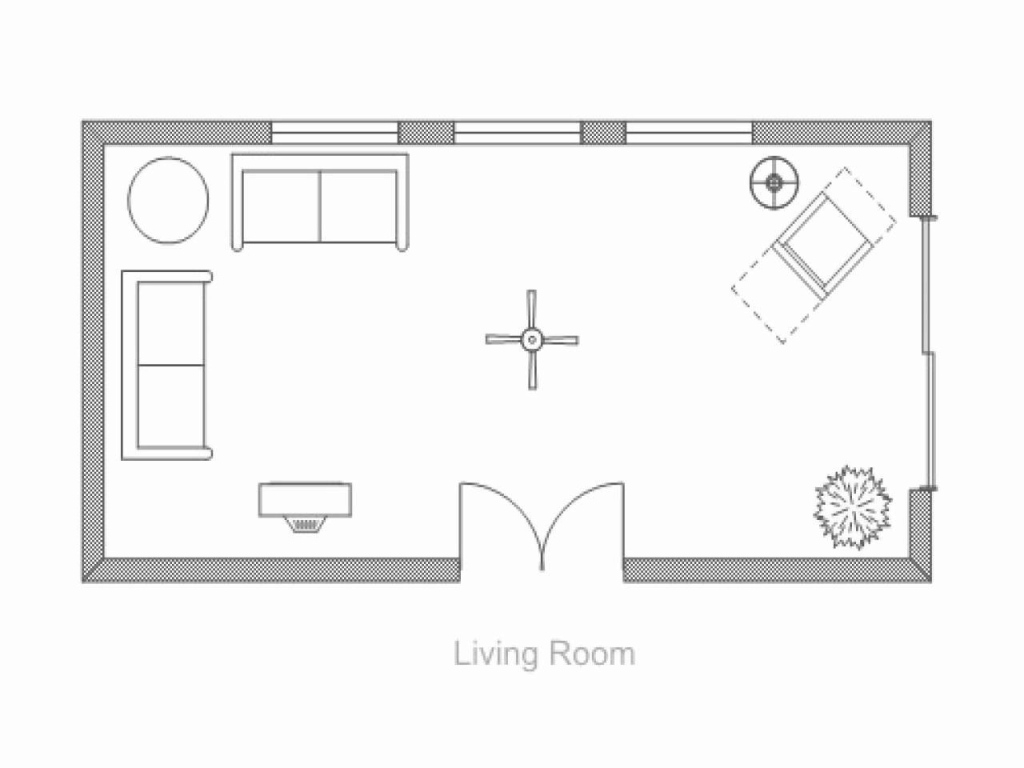 Fabulous The Living Room Floor Plan Layout | Pinspirationaz intended for Living Room Floor Plans