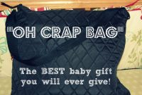 "Fabulous The ""oh Crap"" Bag. The Best Baby Shower Gift. 