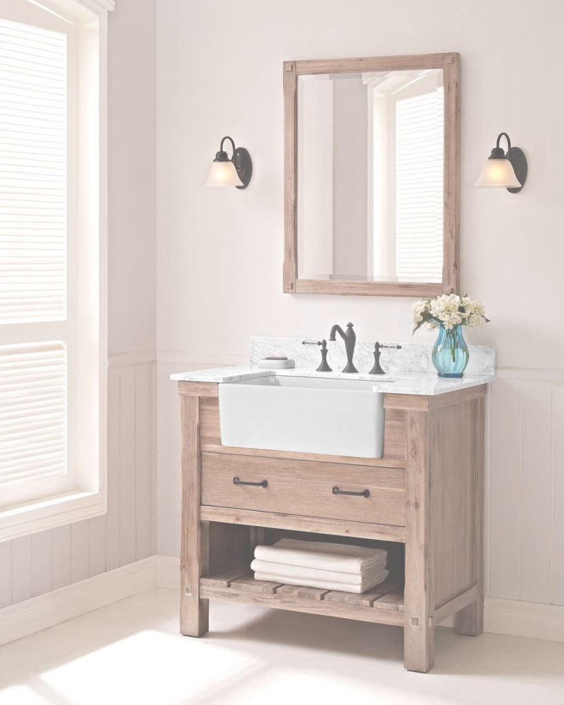 Fabulous The Truth About Apron Sink Bathroom Vanity Fairmont Designs 1507 in Set Apron Sink Bathroom Vanity