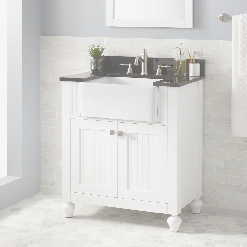 Fabulous Unsurpassed Apron Front Bathroom Sink Lovely Farmhouse Small Design intended for Set Apron Sink Bathroom Vanity