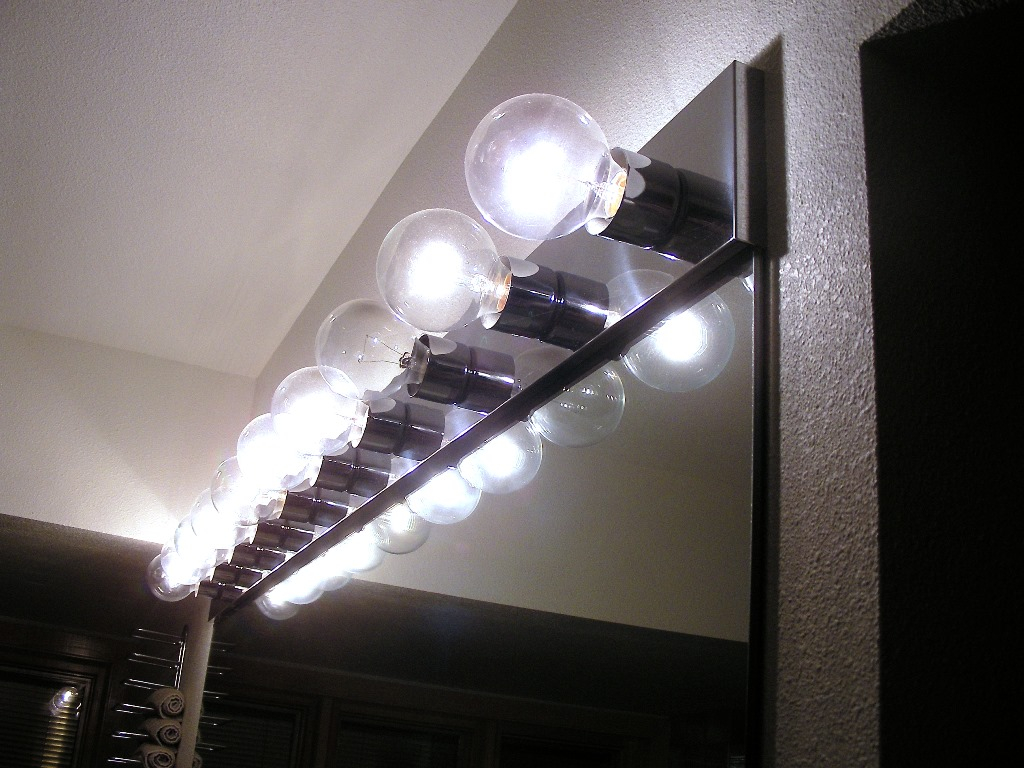Fabulous Uses Bathroom Light Bulbs regarding Bathroom Vanity Light Bulbs