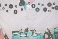 Fabulous Wedding / Event Tablescape: 1950's Theme | 60Th Anniversary Open within 50S Theme Party Decorations