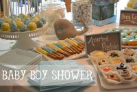 Fabulous Whale Baby Boy Shower Ideas in Best of Baby Shower Food Ideas For Boy