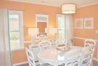 Fabulous White Dining Furniture In Orange Dining Room Color – Prove That The in Orange Dining Room