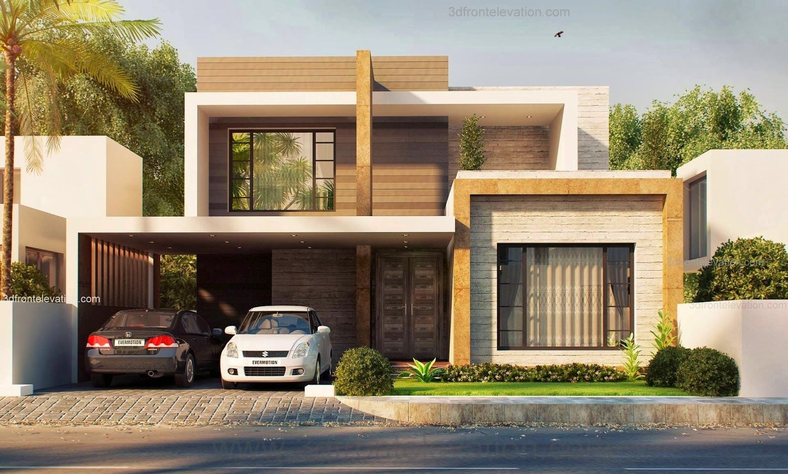 Fancy 10 Marla Modern House Plan Beautiful Latest Pakistani Design For within Latest Modern Houses