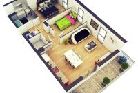 Fancy 2 Bedroom House Plans Designs 3D Small House Home Design Home within 2 Bedroom House Plans