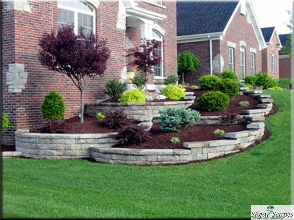 Fancy 20 New Simple Front Yard Landscape Design Ideas - Landscaping Ideas regarding Yard Landscape Pictures