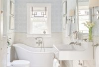 Fancy 2015 Napa Valley Showhouse: Revival On Randolph Street | Traditional intended for Fresh Yarmouth Blue Bathroom