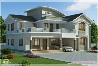 Fancy 2960 Sq.feet 4 Bedroom Villa Design | Pinterest | Villa Design with New House Plans In Kerala