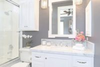 Fancy 32 Small Bathroom Design Ideas For Every Taste | Pinterest | Dark for Beautiful Bathroom Lighting Ideas For Small Bathrooms