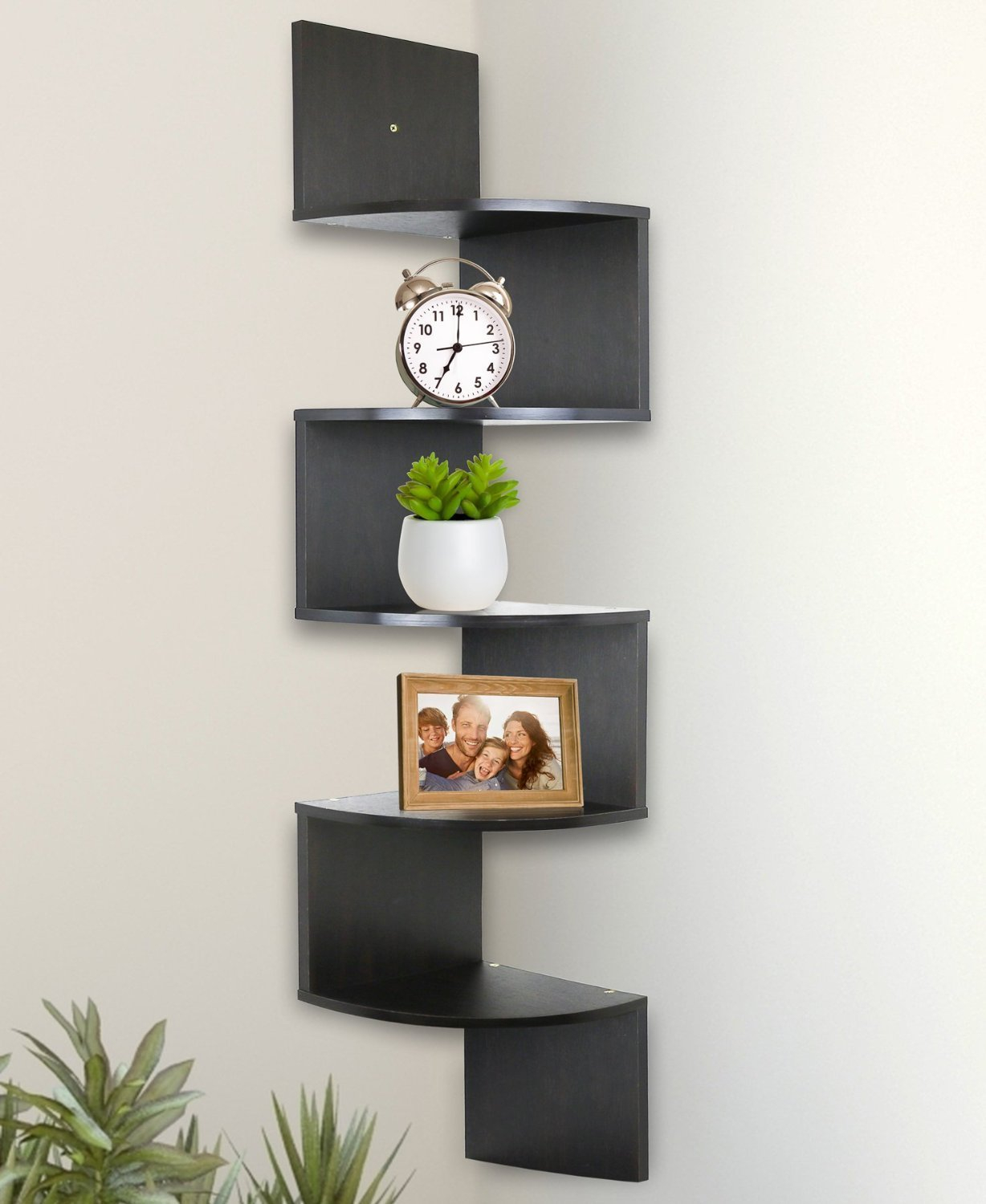 Fancy 7 Main Types Of Corner Shelves Used For Decor And Storage regarding Corner Shelves For Living Room