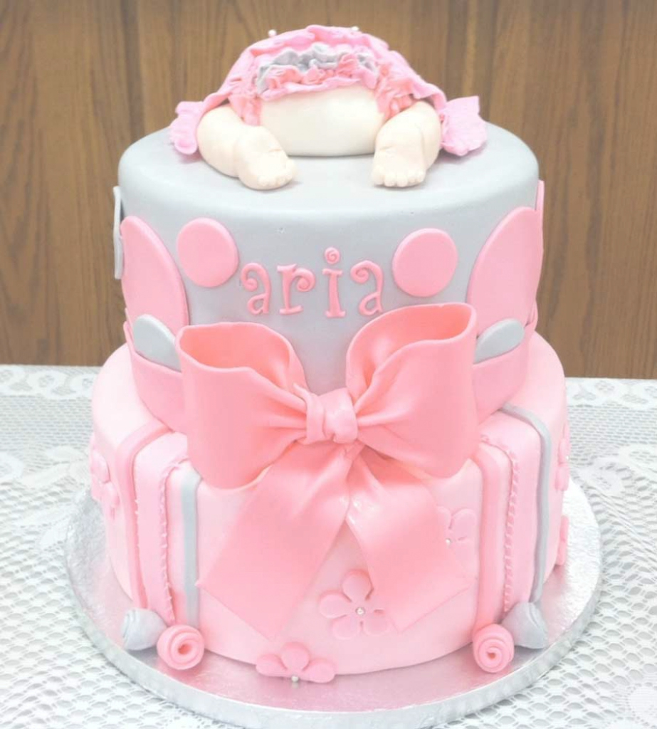 Fancy 70 Baby Shower Cakes And Cupcakes Ideas pertaining to Lovely Baby Girl Shower Cake Ideas