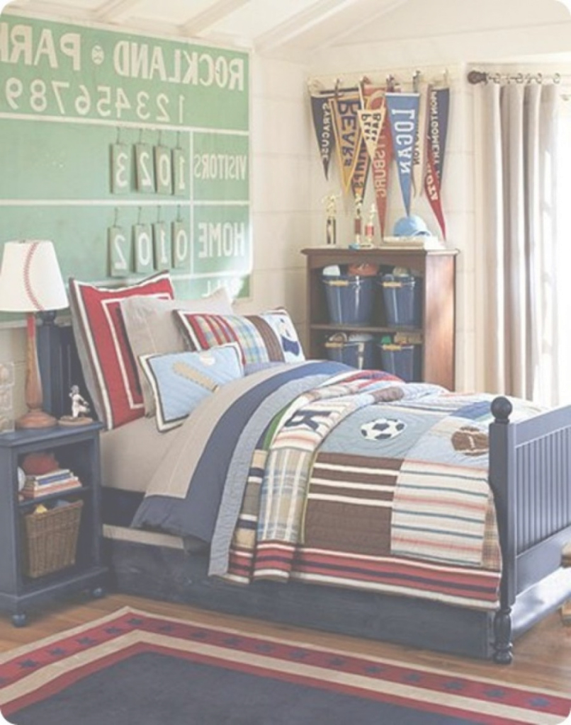 Fancy Amusing Sports Themed Bedroom Decor 0 | Hyipenter pertaining to Awesome Sports Themed Bedroom Decor