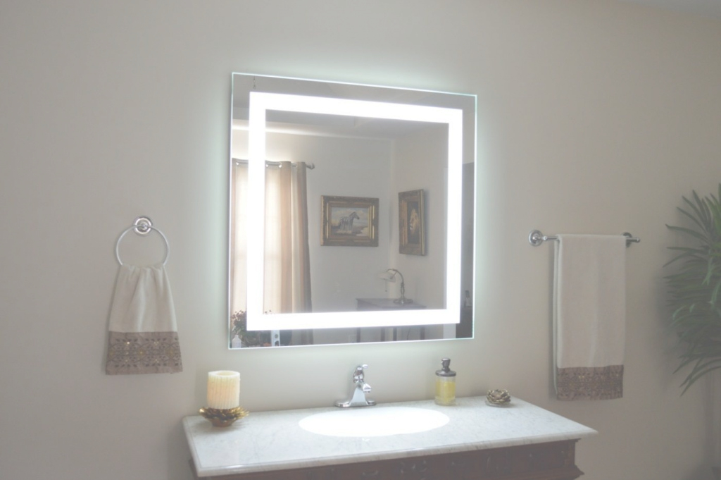 Fancy Awesome Lighted Bathroom Mirror Brass - Dkbzaweb pertaining to Good quality Brass Bathroom Mirror