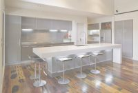 Fancy Awesome Modern Kitchen Design Ideas Come With White Lacquered inside Modern Kitchen With Island